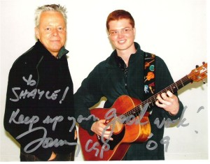 Tommy Emmanuel with Shayle